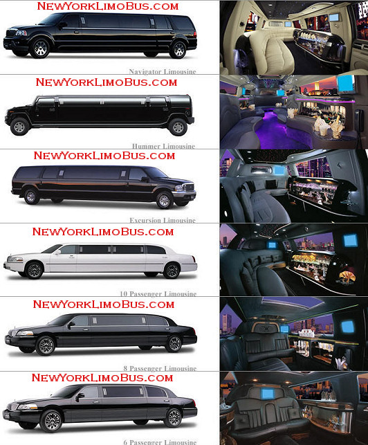 Limo rentals for prom in New York.