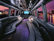 New York Party Bus for prom.